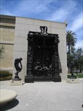 Image for Rodin's Doorway to Decorative Arts Museum - Stanford, CA