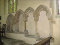 Image for Sedilia - Church of the Holy Trinity - Elsworth, Cambs Uk