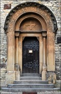 Image for Portal and door - St.Martin's Rotunda / Portál a dvere - Rotunda Sv. Martina (Prague - Vyšehrad)