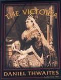 Image for The Victoria Pub Sign, Promenade, Southport, Merseyside UK