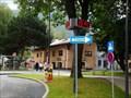 Image for Zeit/Temperaturanzeige Kreisverkehr - Kufstein, Tirol, Austria