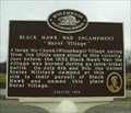"Image for Black Hawk War Encampment ""Burnt Village"" Historical Marker"