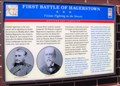 Image for First and Second Battles of Hagerstown, Maryland