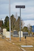 Image for Upper Hill Cemetery - Veterans' Section -  Anaconda, Montana