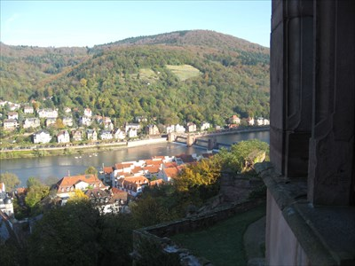 Heidelberg & the Neckar from the Schloss