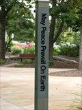 Image for YSU Peace Pole ~ Youngstown, Ohio