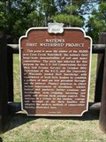 Image for Nation's First Watershed Project Historical Marker