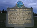 Image for John Thompson, Pioneer