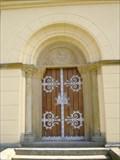 Image for Dvere kostela sv. Vaclava, Bezdekov, CZ, EU