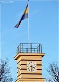 Image for Prague - Kunratice municipal flag / Obecní vlajka Prahy - Kunratic
