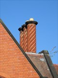 Image for Barleysugar flues, Old Almshouse, Vicar's Lane, Chester.
