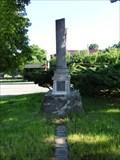 Image for Broken Column Headstone - Horni Lhota, Czech Republic