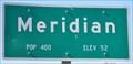 Image for Meridian ~ Population 400