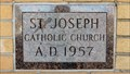 Image for 1957 - St. Joseph Catholic Church - Libby, MT.