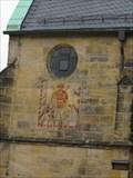 Image for Sundial on Stadtpfarrkirche Lichtenfels