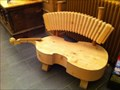 Image for Musical Bench in the Entrance Area of a hotel - Bergün, GR, Switzerland