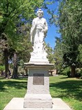 Image for Mark Twain - Crater on Mercury; Statue in Angels Camp, CA