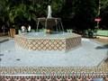 Image for Mosaic Fountain - Busch Gardens - Tampa, Florida.