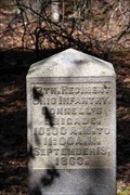 Image for 17th Ohio Infantry Regiment Marker - Chickamauga National Battlefield