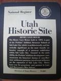 Image for Henry Luce House - Salt Lake City, UT