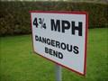 Image for  4 3/4 MPH Dangerous Bend
