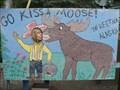 Image for Talkeetna Moose Kissing Photo Op