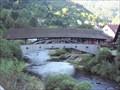 Image for Historische Holzbrücke Forbach, Germany