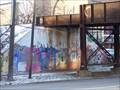 Image for Huron Street Train Underpass Graffiti - Ann Arbor, Michigan