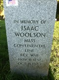 Image for Isaas Woolson, Lewiston NY