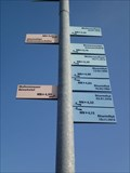 Image for Storm flood marker - Greetsiel, Germany