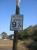 Image for Speed 9 1/2 MPH on Beattie Lane