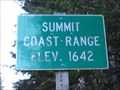 Image for Coast Range Summit - Elsie Oregon - 1642'