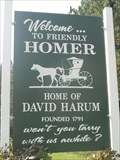"Image for ""Home of David Harum"" - Homer, NY"