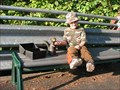 Image for Squirrel and Lunchbox - Portland Zoo Bench