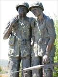 Image for Vietnam War Memorial, Avenue of the Flags, Marin County, San Rafael, CA, USA