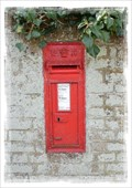 Image for Victorian Post Box - Northbourne Road, Great Mongeham, Kent, UK.
