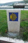Image for Way Marker Paseo Maritimo  (left side) - Cee, Spain