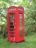 Image for Red Telephone Box - Wennington- Cambs