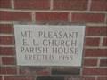 Image for 1955 - Mt. Pleasant E.L. Church Parish House - Saluda SC