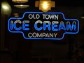 Image for Old Town Ice Cream Store - Neon Sign - Old Town, Kissimmee, Florida