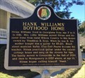 Image for Hank Williams' Boyhood Home - Georgiana, AL