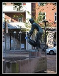 Image for The girl with a goose (Gåsepigen) fountain - Aalborg, Denmark