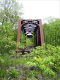 Image for Abandoned Truss Bridge, Jamestown & Franklin RR