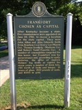 Image for Frankfort Chosen as Capital