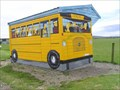 Image for Yellow School Bus Shelter, Colac Bay. South Is. New Zealand.