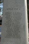 Image for Wheeler Park WWII Memorial - Flagstaff, AZ