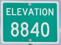 Image for Grand Canyon Highway Summit ~ Elevation 8840 Feet