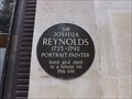 Image for Sir Joshua Reynolds - Leicester Square, London, UK