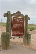 Image for Goodnight-Loving Trail -- US 380 nr the Pecos River, E of Roswell NM