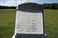 Image for 60th North Carolina Infantry Regiment Marker - Chickamauga National Battlefield